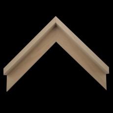 Baklijst blank hout