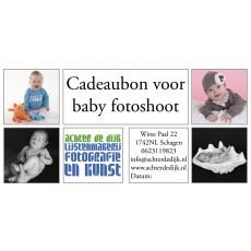 Cadeaubon baby fotoshoot