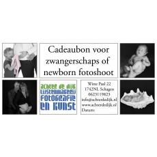 Cadeaubon zwangerschap/newborn fotografie