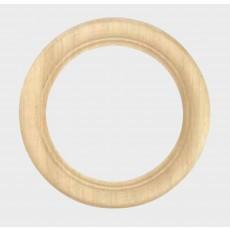Ronde houten lijst 13 cm doorsnede